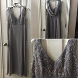 Beautiful silverfish gray formal dress in Fort Hood, Texas