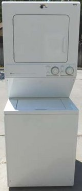 STACK MAYTAG WASHER & ELECTRIC DRYER in Oceanside, California