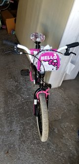 """Hello Kitty 18"""" Girl Bike with training wheels in Chicago, Illinois"""