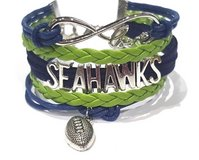 SEATTLE SEAHAWKS Infinity Charm Bracelet *** NEW *** in Tacoma, Washington