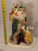 WATERFORD CHRISTMAS HOLIDAY HEIRLOOMS LETTER TO SANTA COOKIE JAR BOX 130869 in Aurora, Illinois