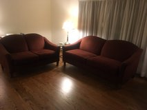 couch and loveseat set in Bolingbrook, Illinois