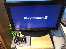 PS2 Silver & 1 Game 1 Controller & Wires in Fort Knox, Kentucky
