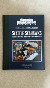"""SEATTLE SEAHAWKS XLVIII CHAMPIONS SI """"RARE"""" Special Limited Edition Book *** NEW in Tacoma, Washington"""
