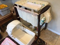 Bassinet and Changing table combo in Camp Pendleton, California