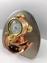Dive Helmet Brass Clock - Brand New! in Los Angeles, California