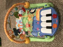 Fisher price baby play mat with piano in Glendale Heights, Illinois