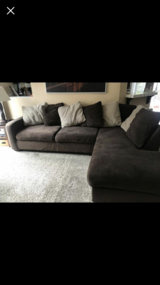 Ashley's furniture couch in Oceanside, California