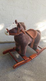 rocking horse in Vacaville, California