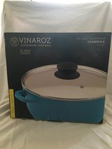 Die Cast Aluminum Casserole with Ceramic Coating by Vinaroz Cookware 4.2 QT in Las Vegas, Nevada