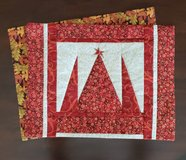 Placemats - Fall and Christmas reversible in St. Charles, Illinois