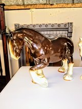 antique Horses @ thriftology in the barn in Cherry Point, North Carolina
