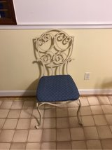 ornate chair in Cherry Point, North Carolina