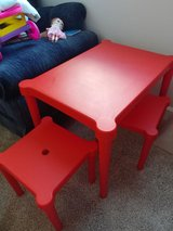 Toddler Table and Chair Set in Fort Lewis, Washington