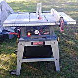 Craftsman laser table saw in Clarksville, Tennessee