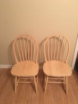 Wooden Chairs in Fort Rucker, Alabama