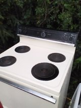 GE electric stove in Baytown, Texas