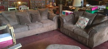 Ashley Microfiber Matching Couch and Loveseat in Fort Polk, Louisiana