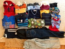 Fall/winter lot of size 6/7 boys clothes in Elgin, Illinois