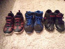 3 pairs od boys shoes in Lawton, Oklahoma