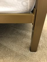 Queen Canopy bed frame in Jacksonville, Florida