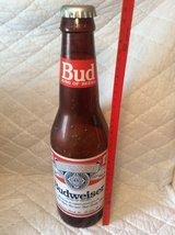 OverSized Budweiser Bottle (Plastic) in Macon, Georgia