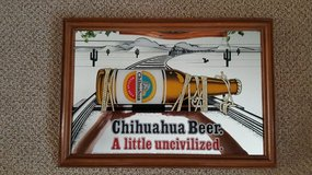 Beer Sign in Sandwich, Illinois
