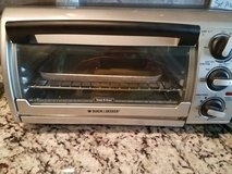 Toaster oven, barley used in Houston, Texas