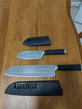 2 Professional Napastyle knives with sheafs in Eglin AFB, Florida