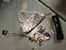 Purse, earring and necklaces in Chicago, Illinois