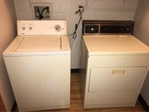 washer and electric dryer in Joliet, Illinois
