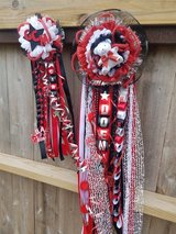 Homecoming mum and garter in Pasadena, Texas
