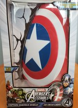 Marvel Comics 3D Captain America Shield Wall Light in Chicago, Illinois