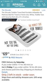 Travel Bed Portable in Travis AFB, California