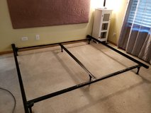 King Size Metal Bed Frame $25 in Plainfield, Illinois