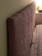 King Size DIY Upolstered Headboard (hangs on wall) in Plainfield, Illinois