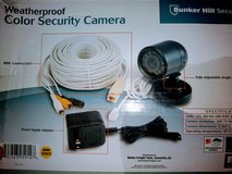 WeatherProof color security Camera w night Vision in Fort Benning, Georgia