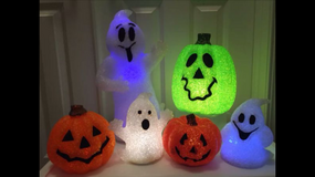 6 Piece Halloween Light up Pumpkins & Ghosts in Plainfield, Illinois