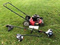 lawn mower and weed wacker/edger in Lockport, Illinois