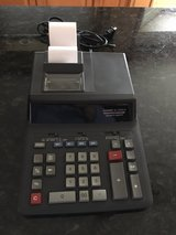 Casio Printing Calculator in Plainfield, Illinois