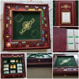 Franklin mint monopoly hardwood game in Fort Leonard Wood, Missouri