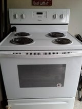 New Whirlpool Stove in Houston, Texas