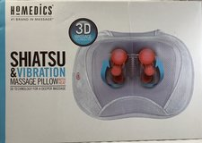 NEW HoMedics SP-105H 3D Shiatsu and Vibration Massage Pillow with Heat in St. Charles, Illinois
