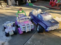 Battery powered vehicles in Travis AFB, California