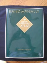 Rand McNally The New International Atlas Anniversary Edition 5 Languages 1993 with Box in Westmont, Illinois