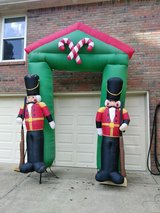 Christmas blow up in Fort Campbell, Kentucky