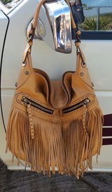 OrYani Leather  Fringe purse in Yucca Valley, California