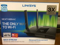 LINKSYS AC 2600 2.6 gbps MAX STREAM MU-MIMO DUAL BAND ROUTER in The Woodlands, Texas