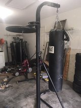 Everlast Heavy Bag with Stand and Speed Bag Mount in Camp Lejeune, North Carolina