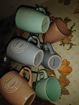 6 coffee cups and stand. in Lake Charles, Louisiana